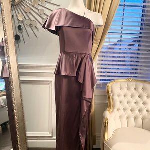 Gorgeous formal silk dress